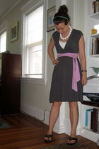 gray Limited dress - white American Eagle intimate - black Unlisted via Dillards