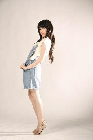 blue GOWIGASA jeans - beige GOWIGASA top - beige Forever 21 shoes