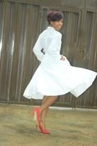 asos skirt - H&M shirt - Primark pumps