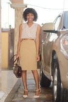 Qupid heels - nikel skirt