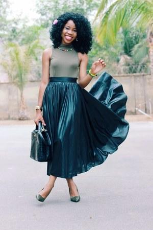 soul orange vintage skirt - Worthington pumps