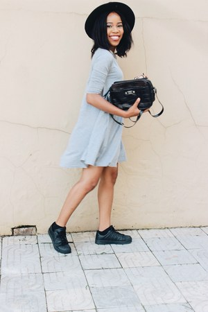 jumia dress - Adidas sneakers