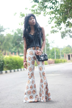 woodin pants - asoscom shoes - thrifted top