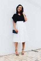 asos skirt - asoscom heels