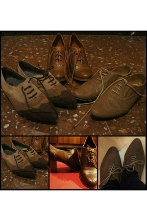 oxford Bershka shoes - oxford Marypaz shoes - oxford Bosanova shoes