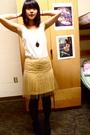 White-goodwill-blouse-yellow-rodarte-skirt-gold-forever-21-accessories-gol