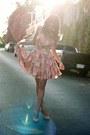 Coral-sugarlips-apparel-dress-nude-topshop-pumps