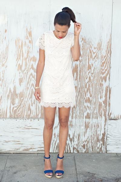 White Pinkyotto Dresses, Blue Lulus