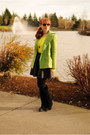 Black-suede-bdg-boots-yellow-gap-sweater-black-h-m-skirt