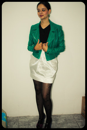 BALBA THELURE jacket - maria di Q skirt