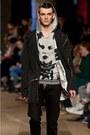 Dark-gray-zara-coat-black-h-m-jeans-silver-cheap-monday-hoodie-brown-h-m-b