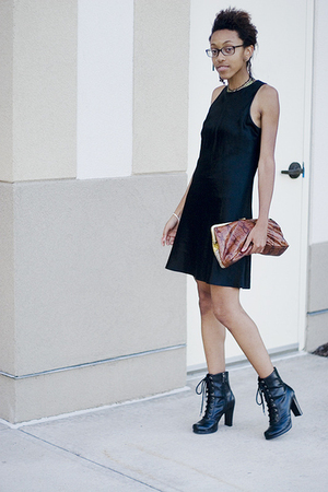 dress - boots - accessories - forever 21