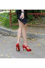 Black-alexander-wang-dress-black-eugenia-kim-hat-red-dune-shoes-red-dune-b