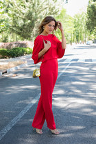 Fat Baobab purse - Lapavana brand suit - Lola Cruz heels