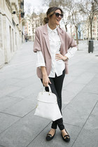 suiteblanco shirt - Juicy Couture jeans - hakei blazer - Furla bag