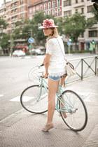 BohoChic hat - storets dress - Mercules bag - Zara shorts - Topshop flats