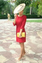 BohoChic hat - Massimo Dutti dress - Teria Yabar bag - Jimmy Choo heels