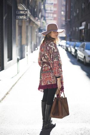 leather Massimo Dutti bag
