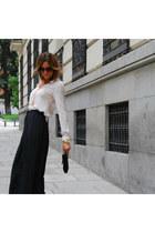 ZARA FW12 blouse - ZARA FW12 pants