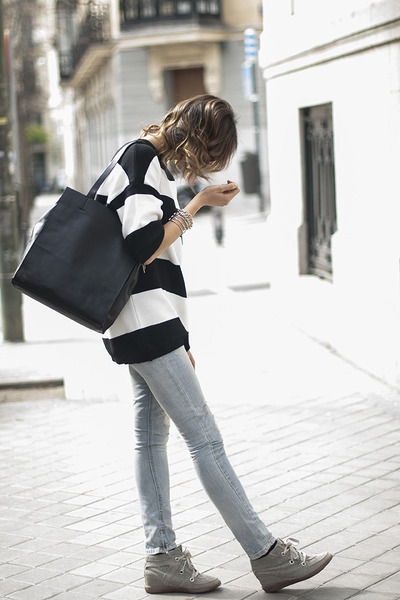 Zara dress - Zara jeans - & other stories bag - Diesel sunglasses