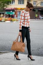 PERSUNMALL cardigan - Lacambra bag