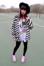 Hot-pink-jeffrey-campbell-shoes-black-striped-nasty-gal-jacket