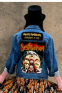 Blue-iron-maiden-vintage-jacket-dark-brown-ving-jeffrey-campbell-boots
