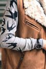 Persunmall-boots-brian-lichtenberg-hat-sheinside-sweater-sheinside-skirt