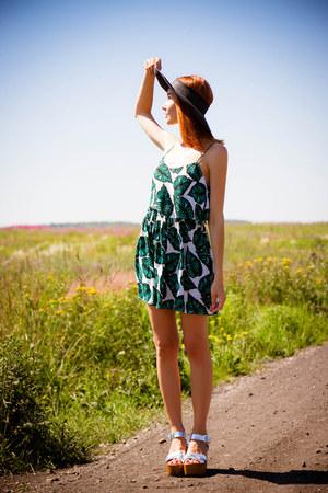 Topshop dress - Topshop heels