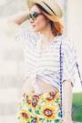 Sheinside-shirt-sheinside-shorts