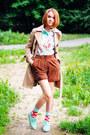 Beige-h-m-coat-banggood-shirt-mango-shorts-minga-berlin-socks