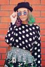 Tbdress-boots-zerouv-sunglasses-sheinside-skirt-sheinside-top