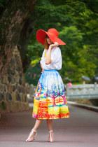 Chicwish skirt - Choies heels