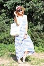 My-favorite-tiara-dress-nowistyle-hat-nowistyle-bag-zerouv-sunglasses