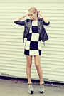 Tfnc-dress-nowistyle-jacket-zerouv-sunglasses-jeffrey-campbell-wedges