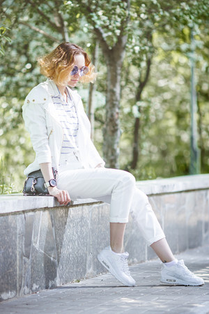 style moi jacket - Rebecca Minkoff bag