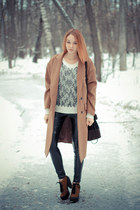nowIStyle coat - Sheinside sweater - asos pants