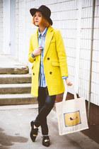 Choies coat - Choies pants
