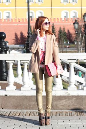 Choies coat - Sheinside jumper
