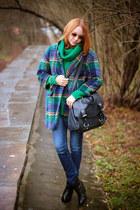 Albachiara Guindani bracelet - Choies boots - Choies coat - Sheinside sweater