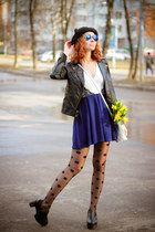 Choies shoes - TFNC dress - trendylegs tights - PERSUNMALL bag