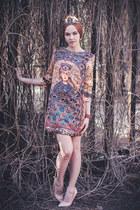 Sheinside dress - Mart of China heels