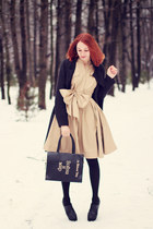 Ecugo boots - Sheinside coat - BangGood bag - PERSUNMALL ring