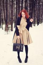 Ecugo boots - Sheinside coat - BangGood bag - PERSUNMALL ring
