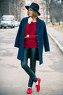 Customellow-coat-sheinside-sweater-choies-pants-mocks-loafers