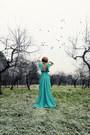 Turquoise-blue-chiffon-msdressy-dress