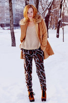nowIStyle coat - nowIStyle sweater - asos pants