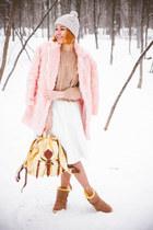 rose pink fur