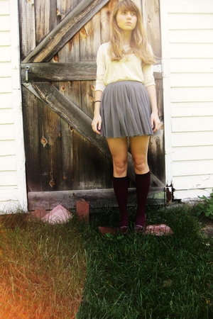 shirt - Forever 21 skirt