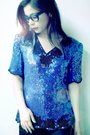 Blue-blouse